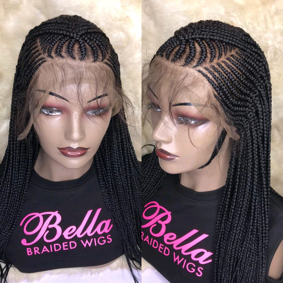 Bella Braided Wigs -  Beauty 5 - MTO - Bella Braided Wigs