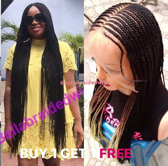 Bella Braided Wigs - BUY BUKOLA GET BBW-634 FREE