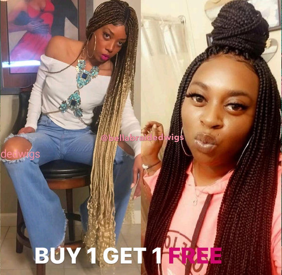 Bella Braided Wigs - BUY BEYONCE GET BIBI FREE
