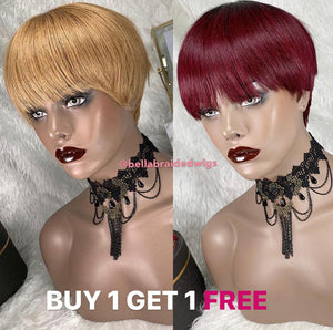 BELLA VIRGIN WIGS - BUY TINA Color 27 & Get TINA Color 530 FREE