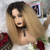 Bella Virgin Wigs - April Lace Frontal Ombre 1B/27