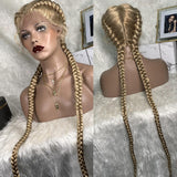 Bella Virgin Wigs - Braided (Available in Color 1B, 2-33T, 2-30T, 1B-99J, 27-613)