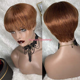 Bella Virgin Wigs - Tina (Available In Color: 1, 4, 27, 30, 33, 99J, 530)