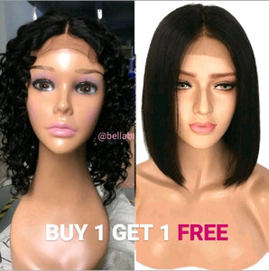 Bella Virgin Wigs - Buy 1 Nina Get 1 FREE Michela - Bella Braided Wigs
