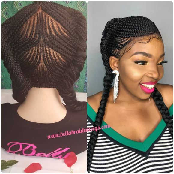 Bella Braided Wigs -  Belinda - Bella Braided Wigs