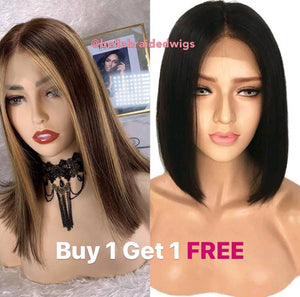 Bella Virgin Wigs - Buy 1 Alicia get 1 FREE Michela - Bella Braided Wigs