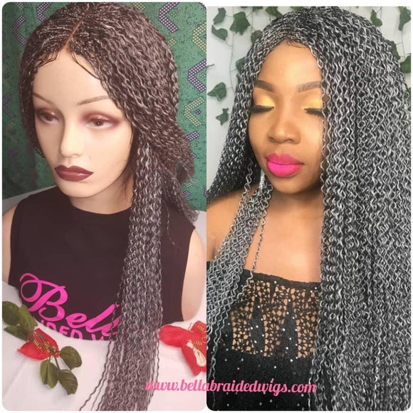 Bella Braided Wigs -  Linda - Bella Braided Wigs