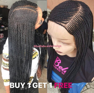 Bella Braided Wigs - BUY AMINA GET ADAORA FREE