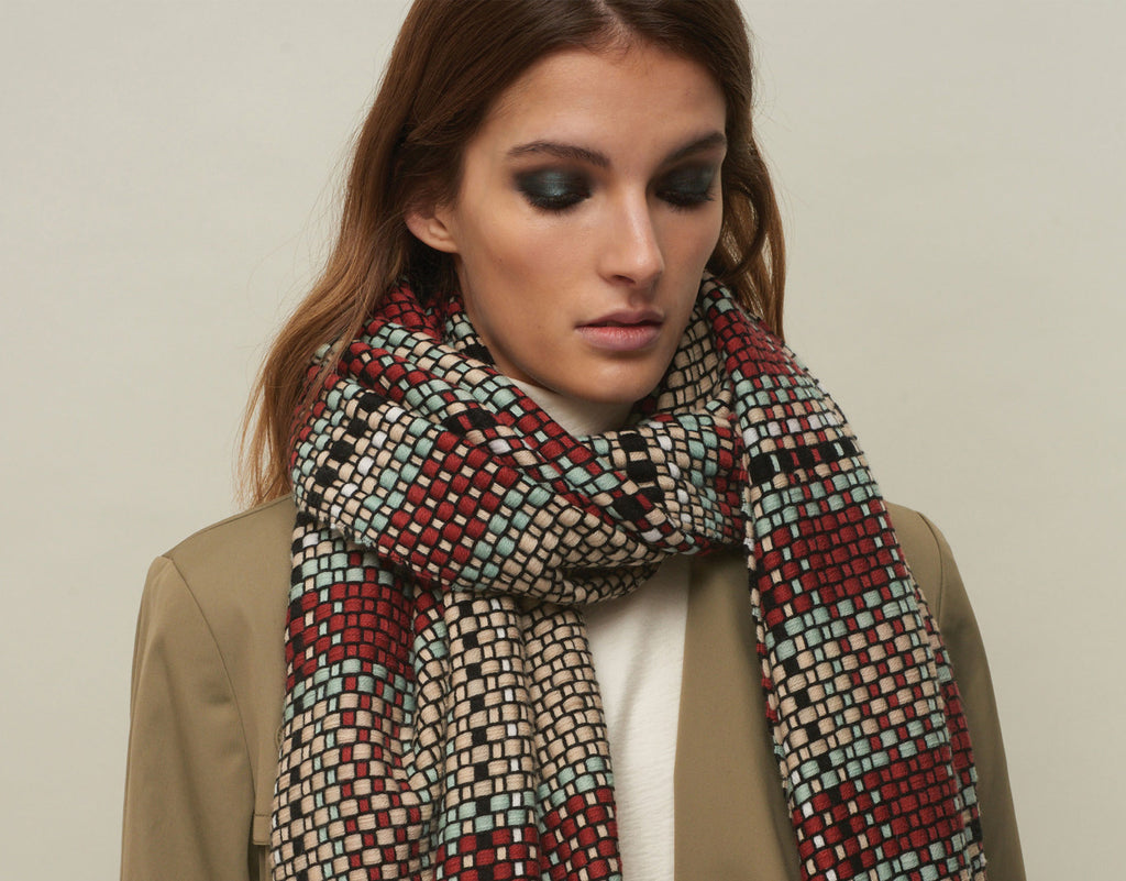 JANE CARR The Plaid Scarf - 1