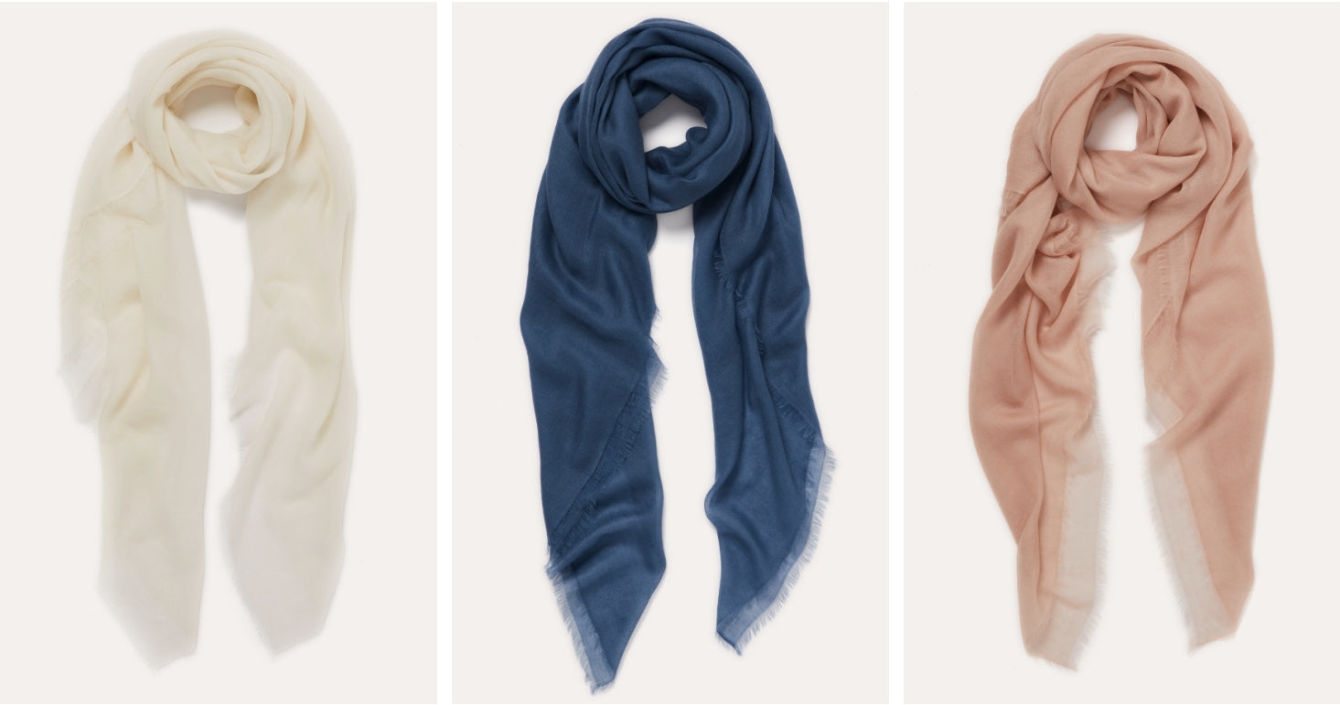 JANE CARR - Styled - Coveted Cashmere - The Sheer Fray Square
