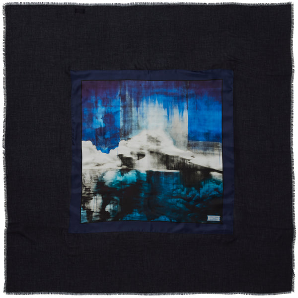 JANE CARR X LORNA SIMPSON FOR HAUSER & WIRTH THE ICE 8 APPLIQUÉ SQUARE
