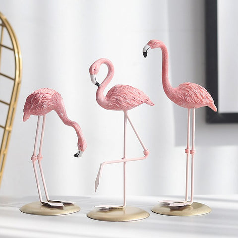 Flamingo Friends - spa-noir