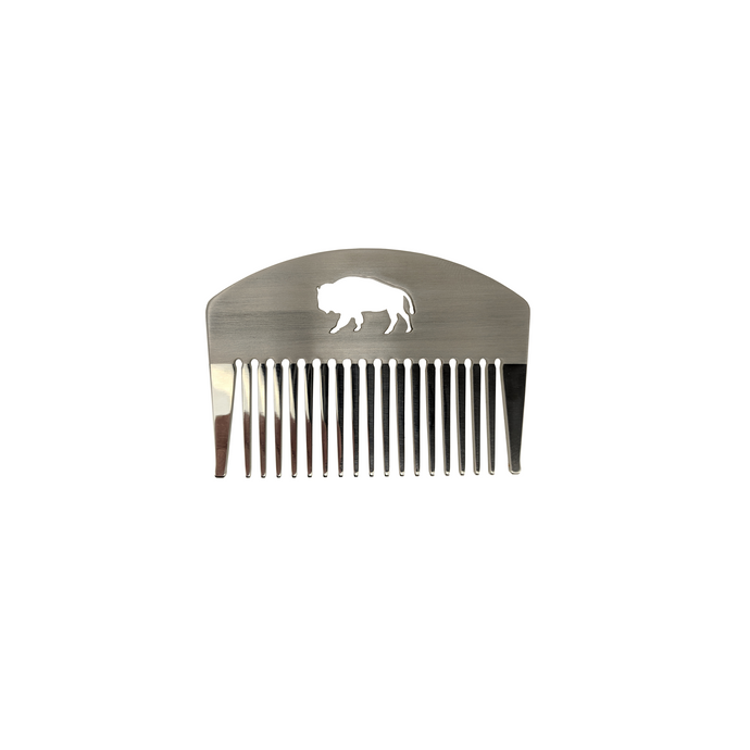 Stainless Steel Hair and Beard Comb - spa-noir