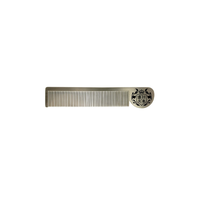 Esquire Stainless Steel Comb- spa-noir