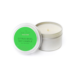 Citrus Basil Casa Candle - Spa Noir