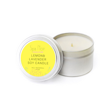 Load image into Gallery viewer, Lemon & Lavender Casa Candle - Spa Noir