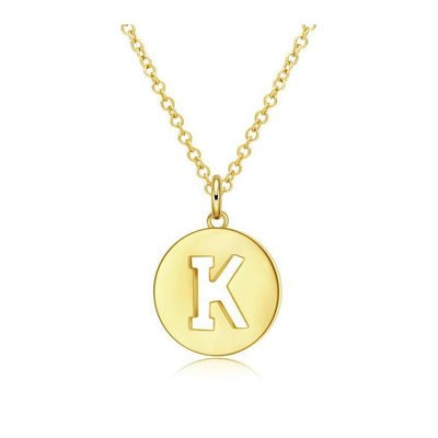 K Is For Kindness Necklace - spa-noir
