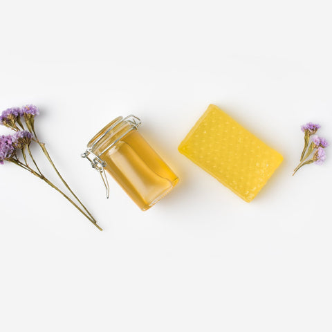 Exfoliating Honey & Lavender Facial Mask - spa-noir