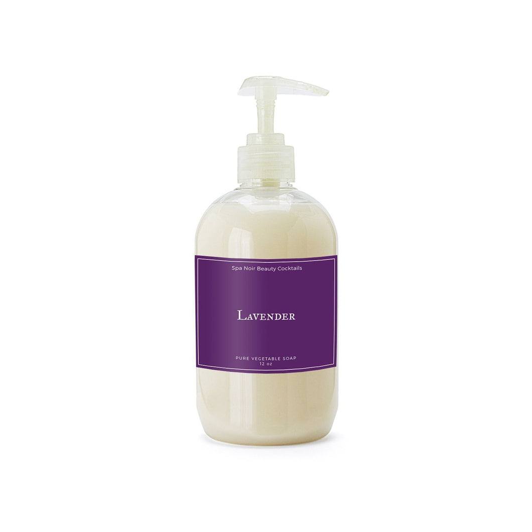 Lavender Vegan Hand Soap - Spa Noir
