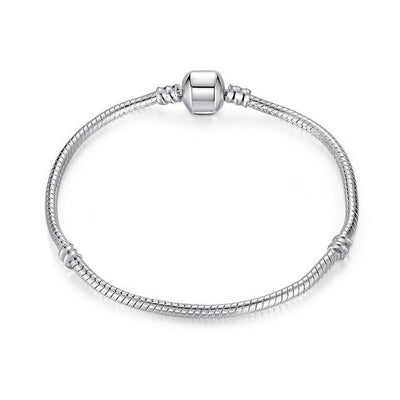 Keep It Simple Silver Bracelet - spa-noir