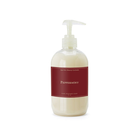 Peppermint Vegan Hand Soap - spa-noir