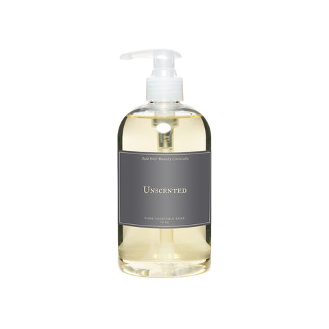Unscented Hand Soap - spa-noir