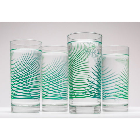 Everyday Teal and Kelly Glasses - spa-noir