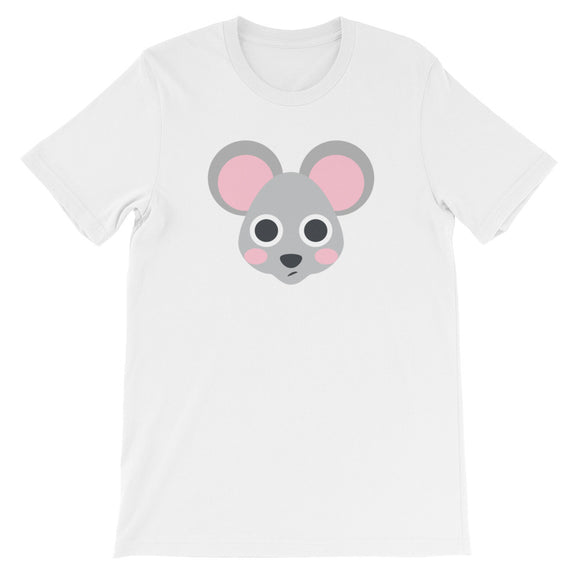 Mouse Face Unisex short sleeve t-shirt