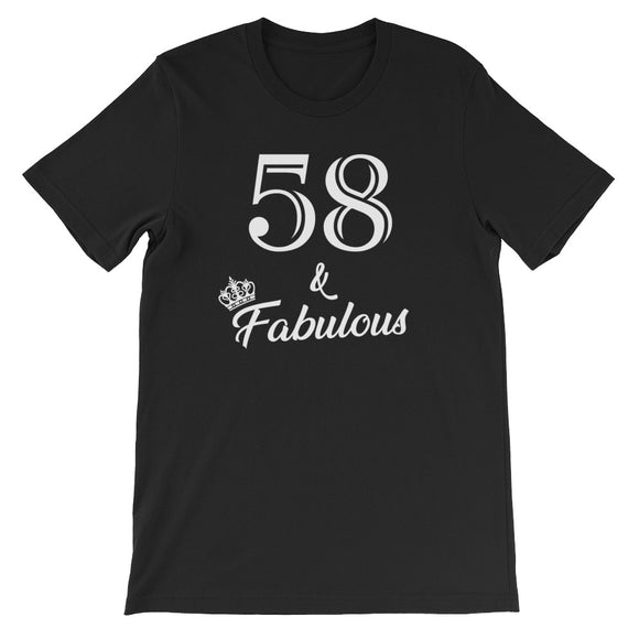 58 & Fabulous Birthday Party