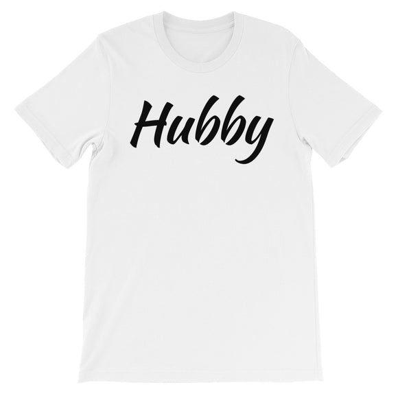 Hubby Unisex short sleeve t-shirt