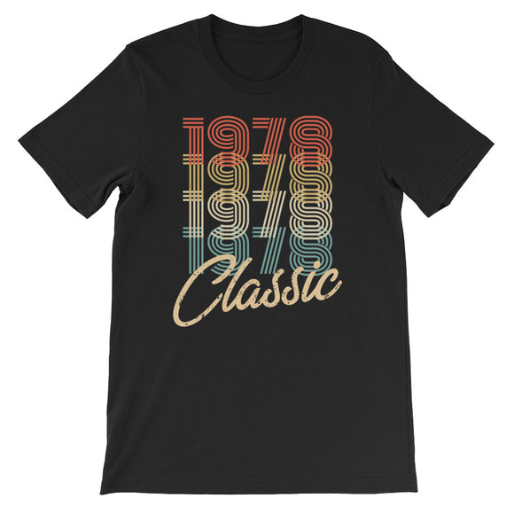 Retro Classic Vintage Born In 1978 Birthday Gift