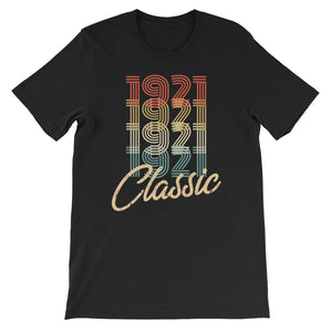Retro Classic Vintage Born In 1921 Birthday Gift