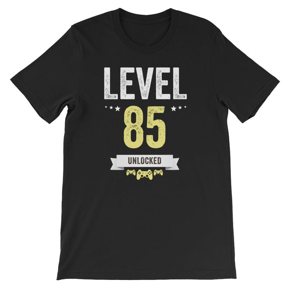Funny Vintage Level 85 Unlocked Video Gamer Birthday