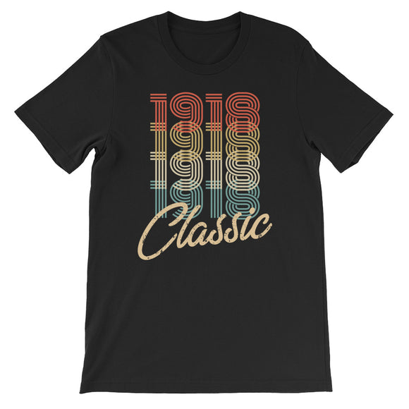 Retro Classic Vintage Born In 1918 Birthday Gift