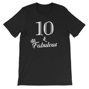 10 & Fabulous Birthday Party