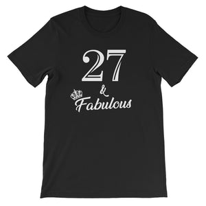 27 & Fabulous Birthday Party