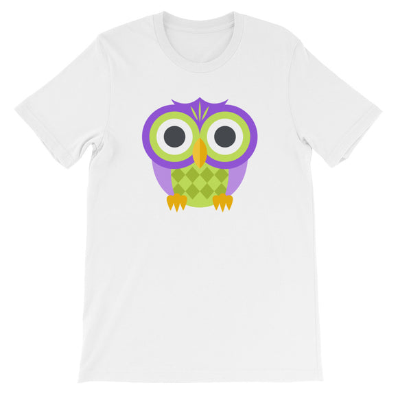 Owl Unisex short sleeve t-shirt