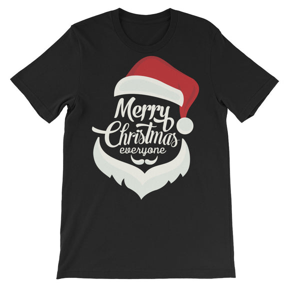 Merry Christmas Everyone Unisex short sleeve t-shirt