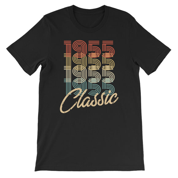 Retro Classic Vintage Born In 1955 Birthday Gift