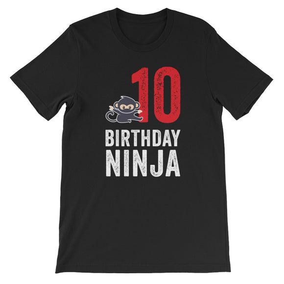 Funny Ninja 10 Birthday
