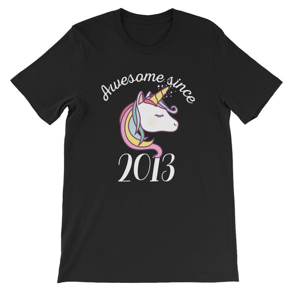 Awesome Since 2013 Funny Unicorn Birthday
