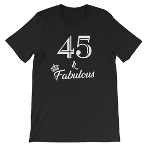 45 & Fabulous Birthday Party