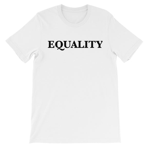 Equality Unisex short sleeve t-shirt