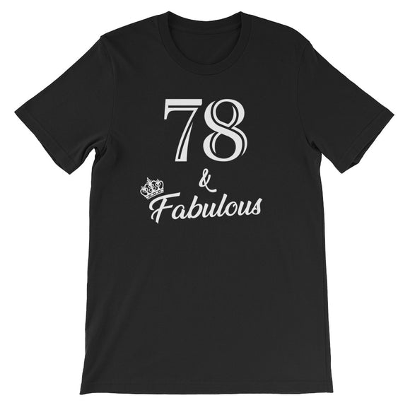 78 & Fabulous Birthday Party