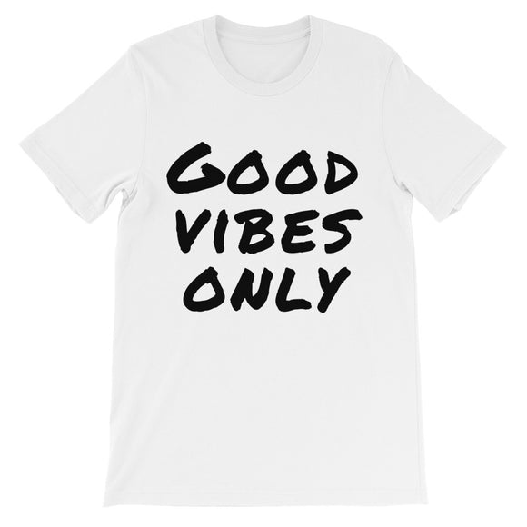 Good Vibes Only Unisex short sleeve t-shirt