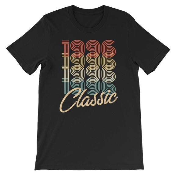 Retro Classic Vintage Born In 1996 Birthday Gift