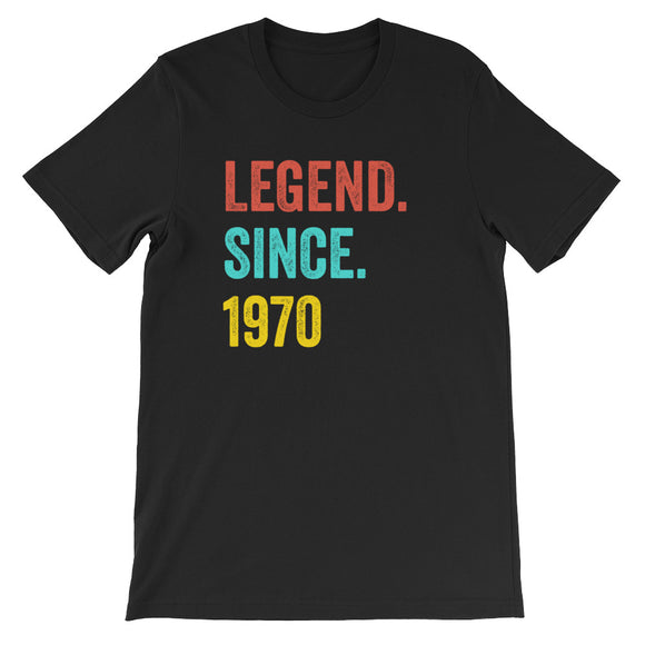 Legend Since 1970 Birthday