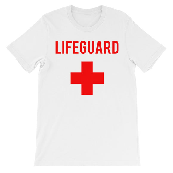 Lifeguard beach Unisex short sleeve t-shirt