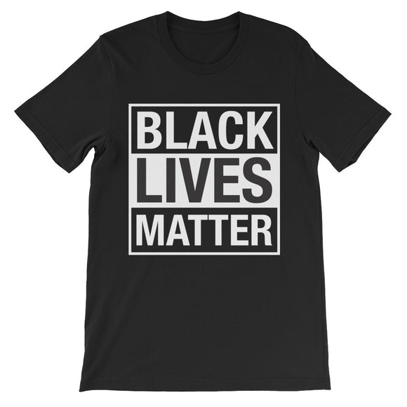 Black Lives Matter Unisex short sleeve t-shirt