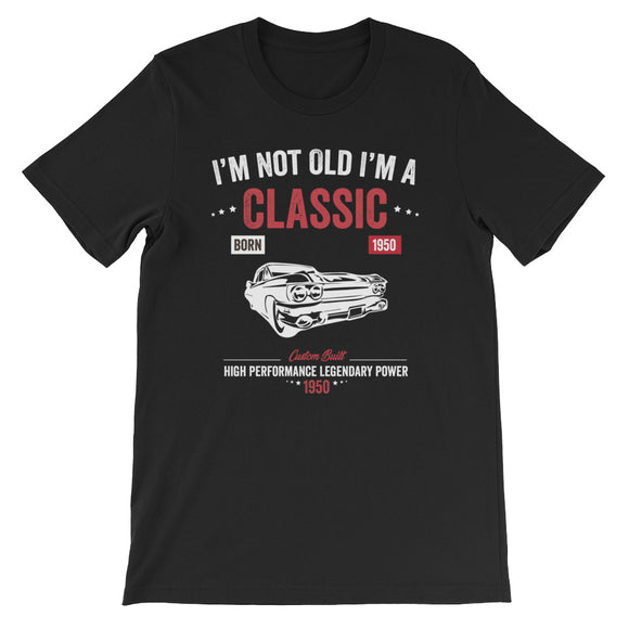 Funny Vintage Birthday I'm Not Old I'm A Classic 1950